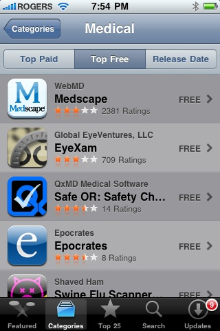 Safe OR, Surgical Safety Checklist Hits No. 3 in App Store