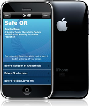 Safe OR for iPhone