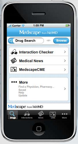 Medscape iPhone App