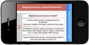 Calculate by QxMD | Treatment of Staph Aureus Peritonitis