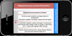 Calculate by QxMD | Treatment of Staph Aureus Peritonitis